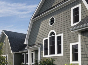 Fairview offers many siding options for Cleveland homes.