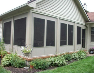 Fairview designs and builds custom patio enclosures.