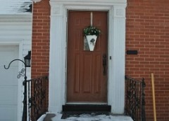 Front Door installation by Fairview Home Improvement